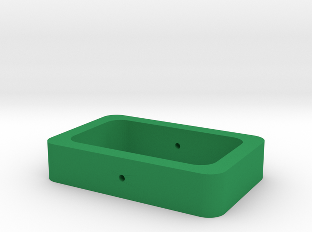 calypso cardan outer part (3/3)  in Green Processed Versatile Plastic