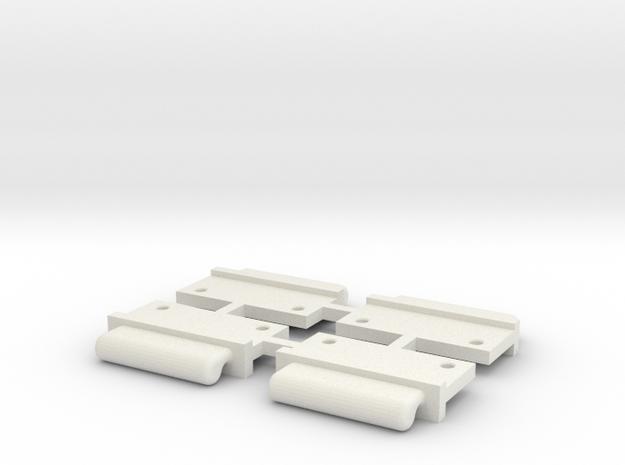 FixAV Mosler v2 MiniZ 4pc in White Natural Versatile Plastic