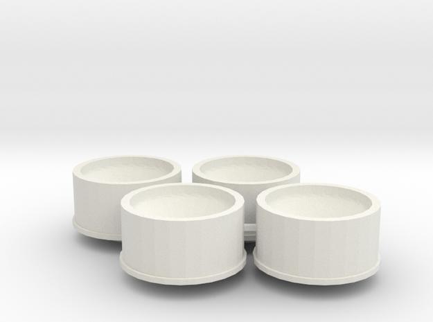 Jantes 21,5x11 ET3 MiniZ in White Natural Versatile Plastic