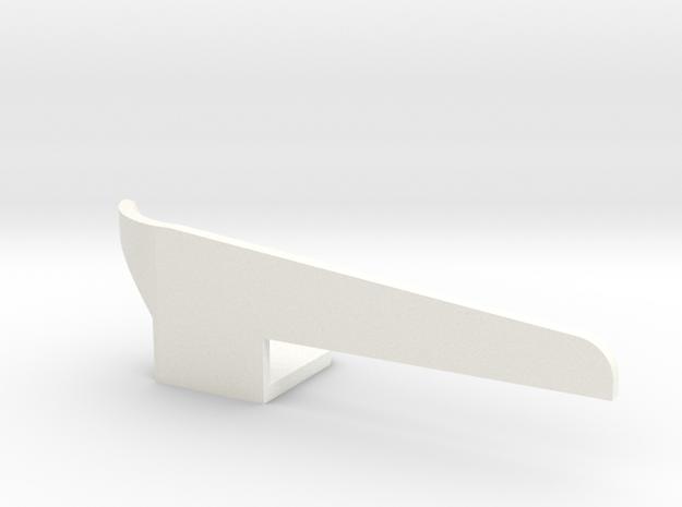 Fender flap front left Startech D110 Team Raffee 1 in White Processed Versatile Plastic