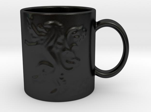 Lannister Mug in Matte Black Porcelain