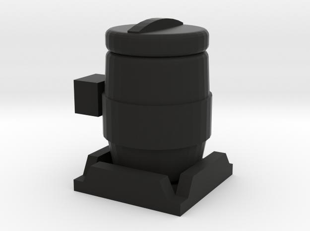 1/64 Inoculant Tank in Black Natural Versatile Plastic