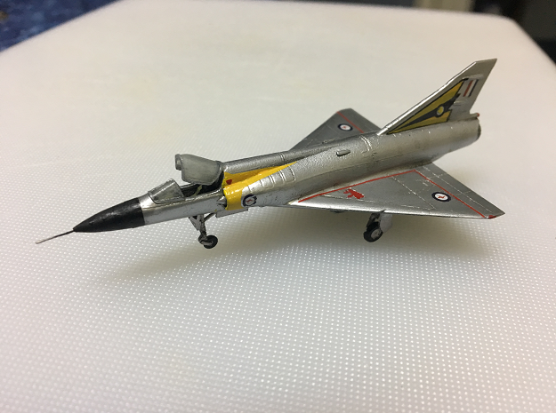 020G Mirage IIIO - 1/144 in Smooth Fine Detail Plastic