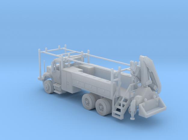 MOW Rail Truck 2 Door Cab W Hiab Hoist Full Cabine