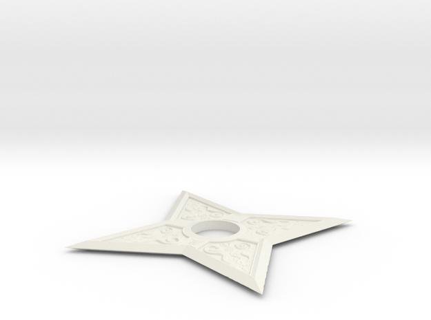 Design Shuriken  in White Strong & Flexible