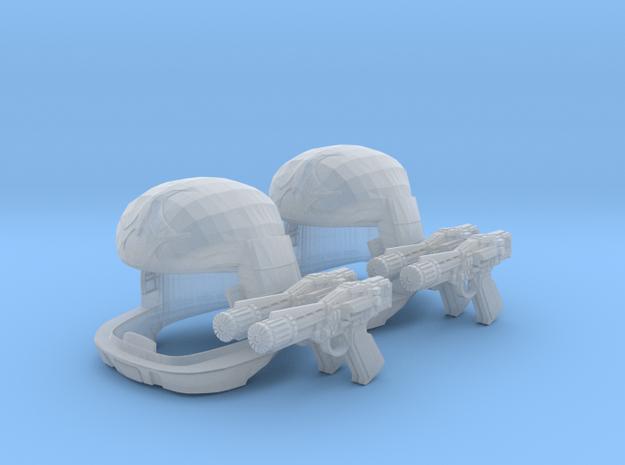 Viper Pilot Patrol (Battlestar Galactica TOS) 1/18 in Smooth Fine Detail Plastic