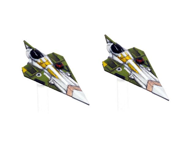Delta-7 - Offset astromech