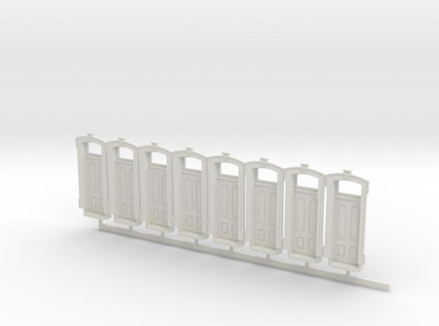 WCK 4ft 3in Wide Door X 8 in White Natural Versatile Plastic