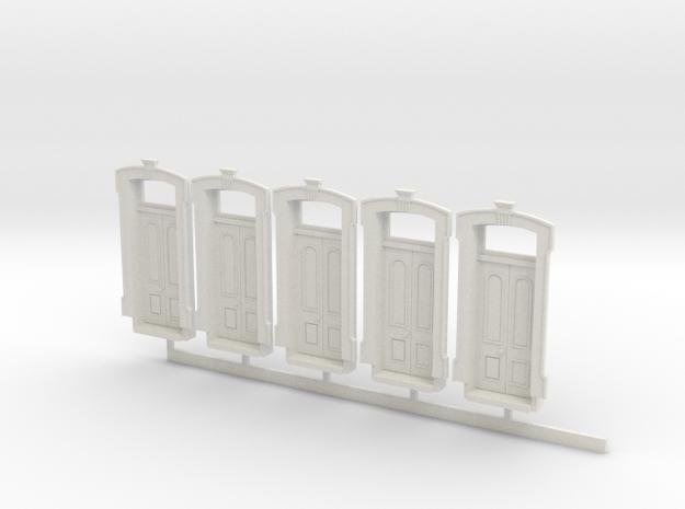 HO WCK 4ft 10in Doors X 5 in White Strong & Flexible