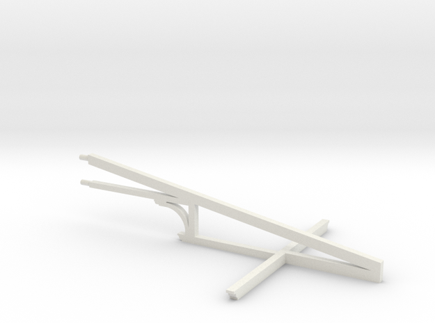 HO WCK Awning Truss X 1 in White Strong & Flexible