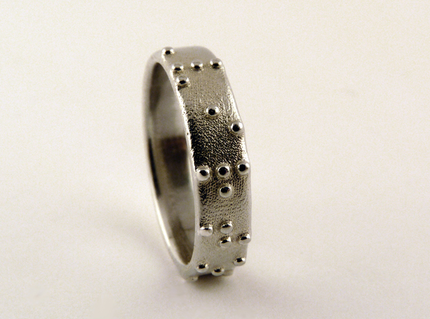 Braille ring (Customized)