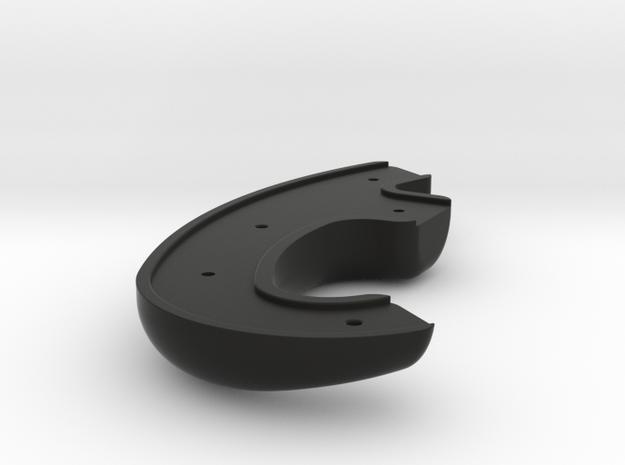 Race Wheel - AMG -Left Rear Grip in Black Natural Versatile Plastic