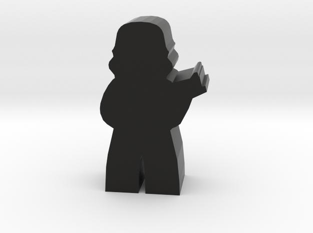 Game Piece, Dark Empire Trooper, Standing in Black Natural Versatile Plastic