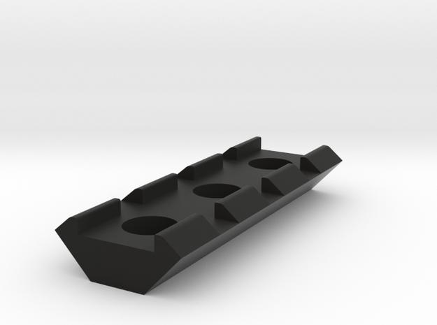 21mm Rail 55mm in Black Natural Versatile Plastic