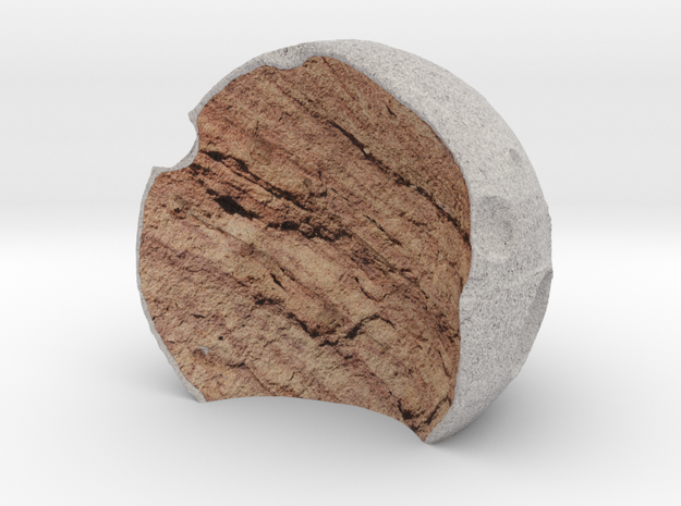 Half Moon in Full Color Sandstone