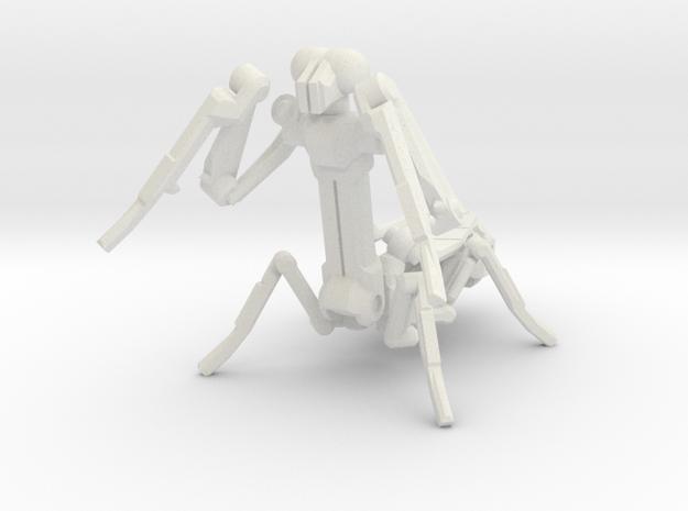 adjustable praying mantis in White Strong & Flexible