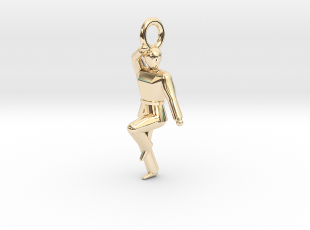 Pendant - Keumgang in 14k Gold Plated