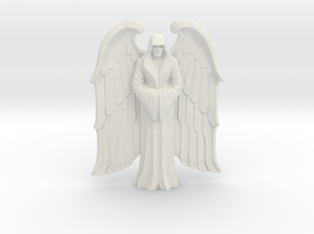 Winged Imperial Saint in White Natural Versatile Plastic