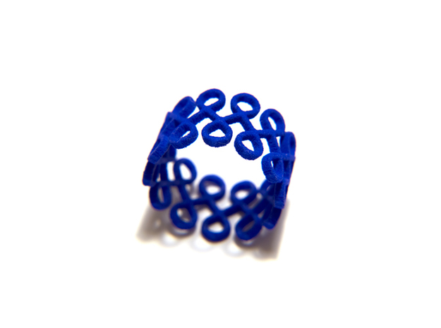 Eighty-Eight Ring 3d printed