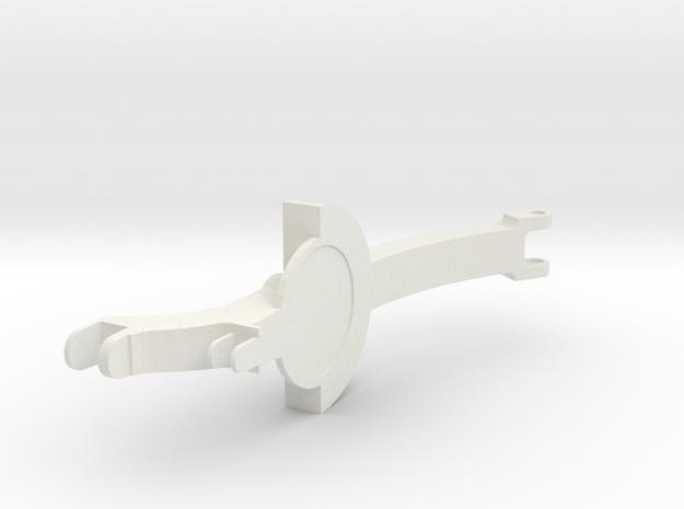 Throttlearm in White Natural Versatile Plastic