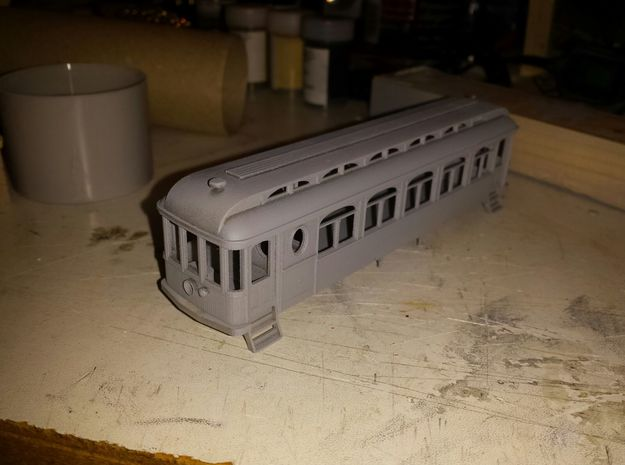 Descanso HO rel.01 in Smooth Fine Detail Plastic