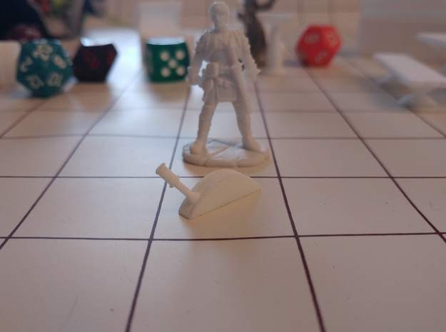 Tabletop: Basic Lever in White Strong & Flexible