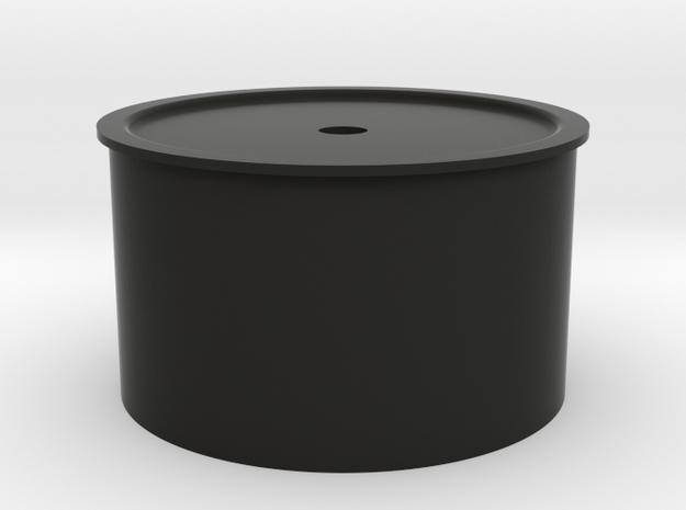 DX6R Steering Wheel  in Black Natural Versatile Plastic