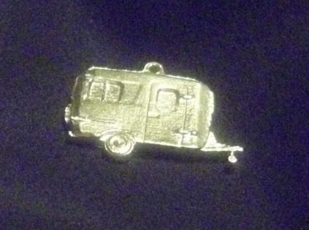 Burro Camper Pendant 3d printed Finished product