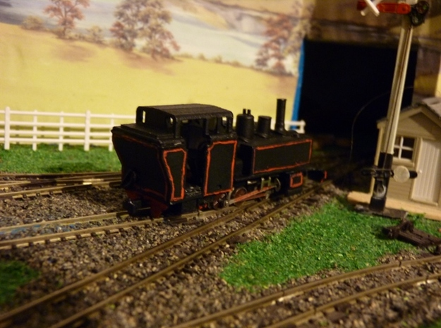 BM4-301 009 Mountaineer - Fairlie style Cab 3d printed The Cab shown on a GEM Mountaineer model