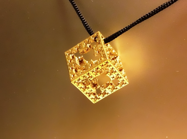 Mystic HyperMenger 3 3d printed Polished Brass