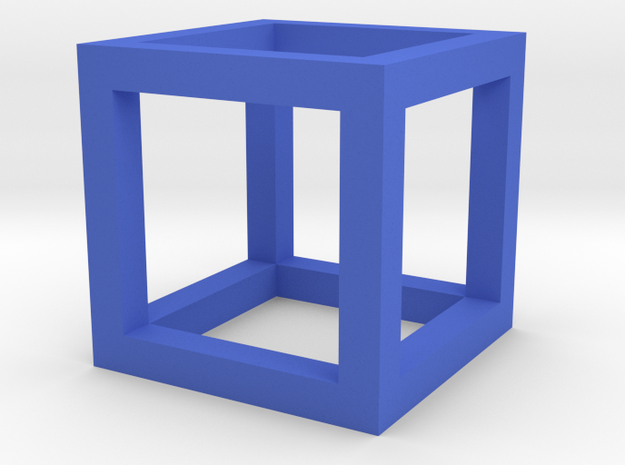 Gcube2 in Blue Strong & Flexible Polished
