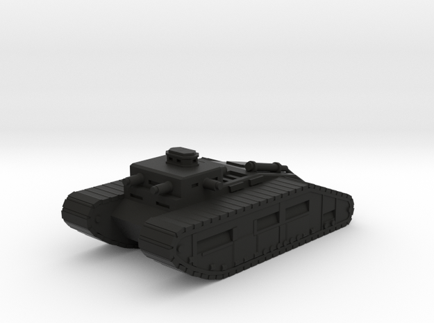 Infantry Command Tank in Black Natural Versatile Plastic