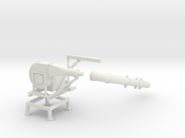1/64 Bunk Blower in White Natural Versatile Plastic