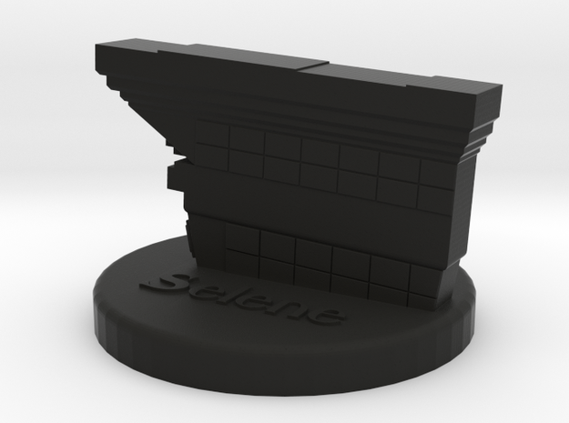 1:6 scale Underworld Selene figure stand in Black Natural Versatile Plastic
