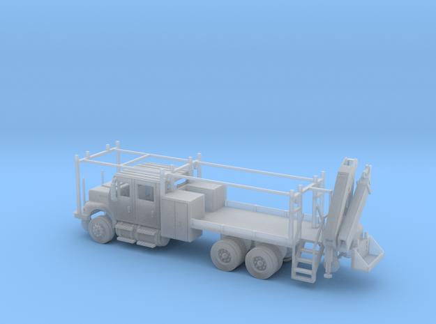 MOW Rail Truck 4 Door Cab W Hiab Hoist 1-87 HO Sca