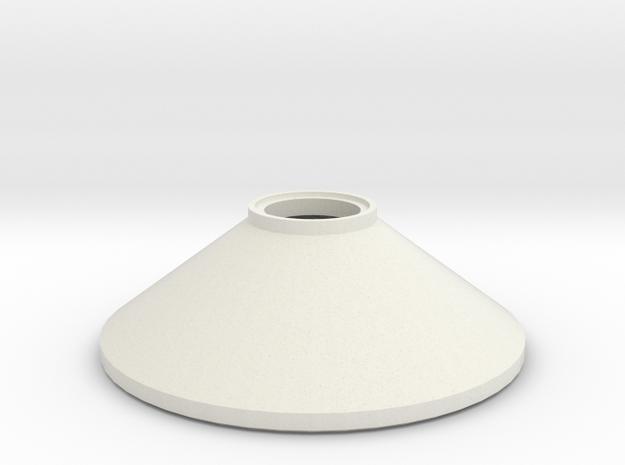 L 60 50 Betonschacht Konus in White Natural Versatile Plastic