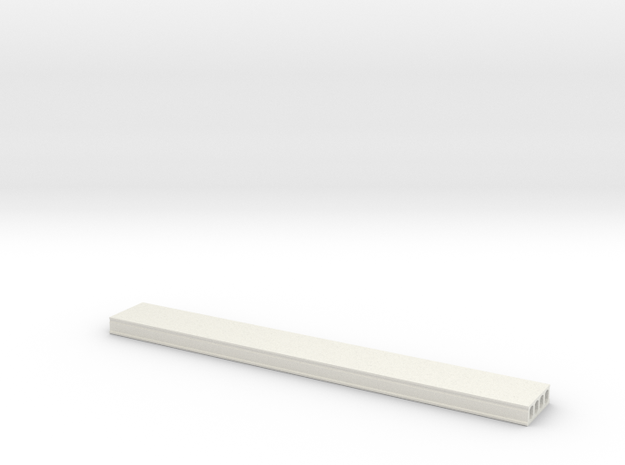 L 32 Deckenplatte  in White Natural Versatile Plastic