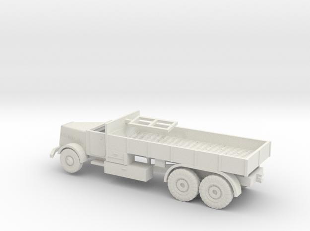 1/144 Faun L900 German tank transporter in White Strong & Flexible