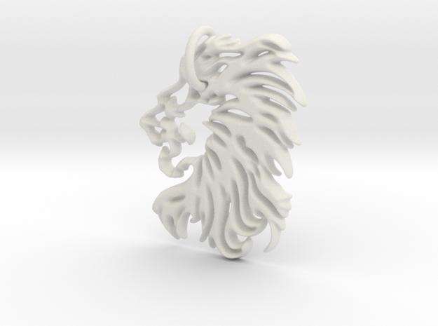 Lions head Keychain
