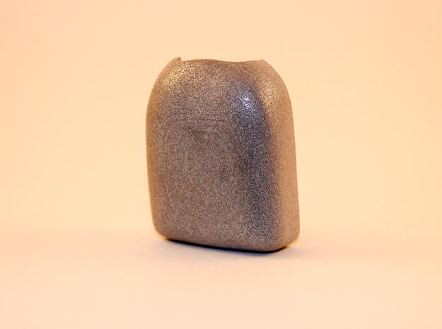 Omnipod Pod Cover - Plain in Polished Metallic Plastic