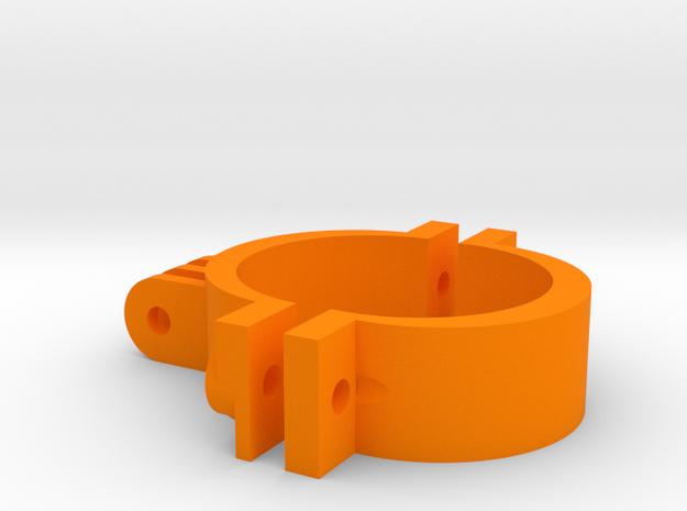 Go Pro 42mm in Orange Processed Versatile Plastic
