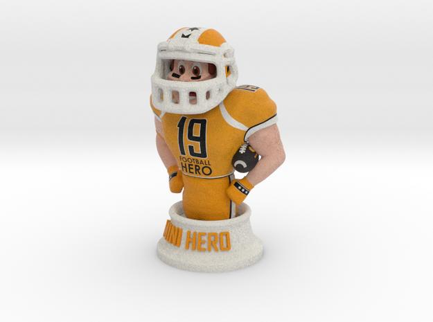 Mini football hero - version Orange in Full Color Sandstone