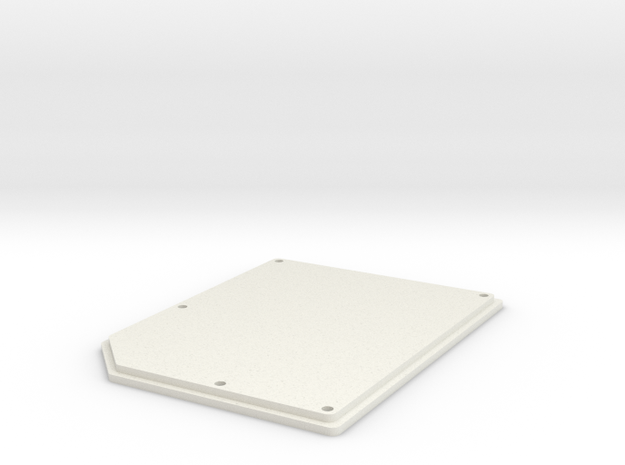 OpenBCI Box Lid in White Strong & Flexible