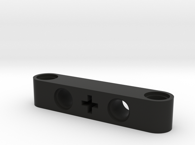 5 Beam Angle Holes And Cross in Black Natural Versatile Plastic