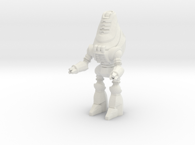 Protectron, Standing Guard - 35mm Mini in White Natural Versatile Plastic