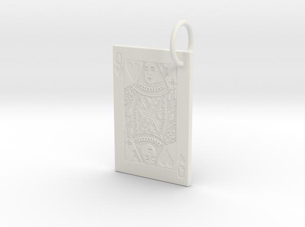 Queen of Hearts Keychain/Pendant