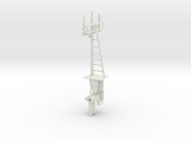 Triple Bracket Signal HO NSWGR LQ in White Natural Versatile Plastic