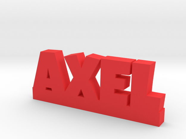 AXEL Lucky in Red Processed Versatile Plastic
