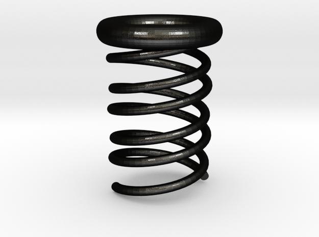 Spin-Up in Matte Black Steel