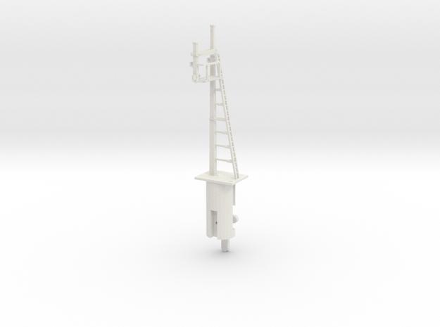 RH Inverted Bracket Signal HO NSWGR LQ in White Natural Versatile Plastic